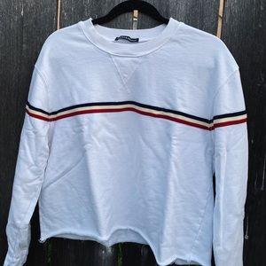 BRANDY MELVILLE White Pullover / Crew